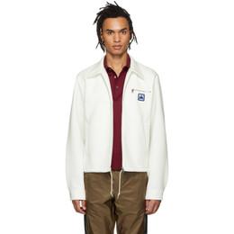 Prada White Techno Jersey Jacket 191962M18001302GB