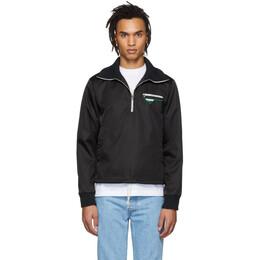 Prada Black Nylon Half-Zip Jacket 191962M18001402GB