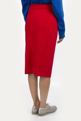 Красная юбка-карандаш Diane Von Furstenberg 110108954
