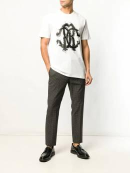 Roberto Cavalli футболка с логотипом HNT614JD060