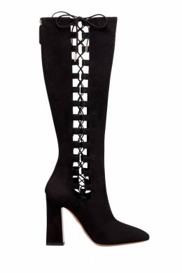 Черные сапоги Medina Boot 105 Aquazzura 975110365