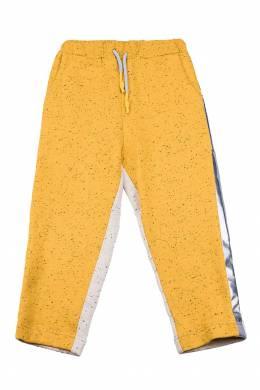 Двухцветные брюки с серебристыми лампасами #MumOfSix 2642111028