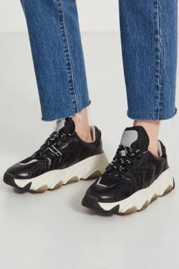 Черные комбинированные кроссовки Extreme Ash 6112431
