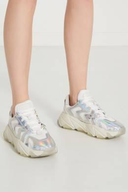 Белые кроссовки Extreme с отделкой Ash 6112433