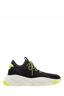 Черные текстильные кроссовки Excape Ash 6112451