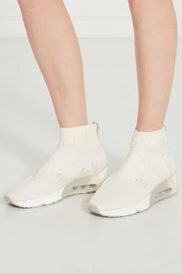 Белые кроссовки-носки Liza Ash 6112460