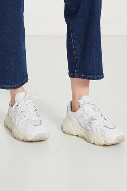 Белые кожаные кроссовки Extreme Ash 6112446
