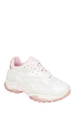 Белые комбинированные кроссовки Addict Ash 6112439