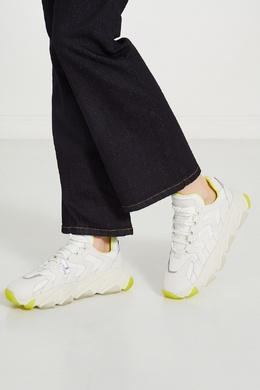 Белые кожаные кроссовки Extreme Ash 6112437