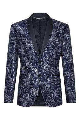 Пиджак с контрастным узором Philipp Plein 1795113169