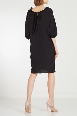 Черное платье с попугаями No. 21 35112504
