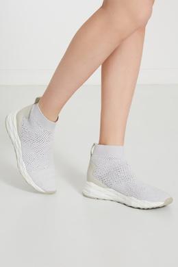 Светло-серые кроссовки-носки Sound Ash 6115854