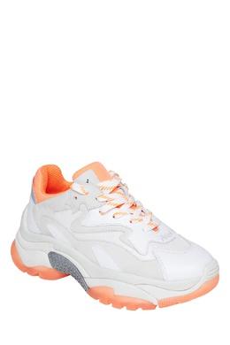 Оранжево-белые кроссовки Addict Ash 6115858