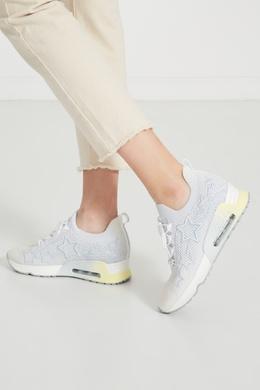 Текстильные кроссовки со звездами Ash 6117305