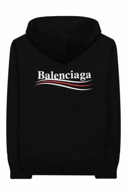 Хлопковое худи Balenciaga 509656/TYK92