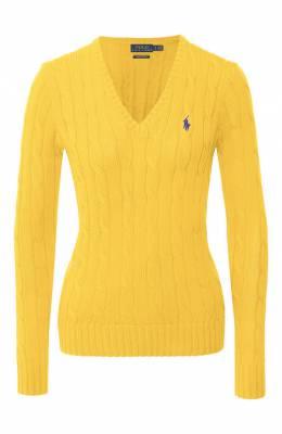 Хлопковый пуловер Polo Ralph Lauren 211580008/0S191C09