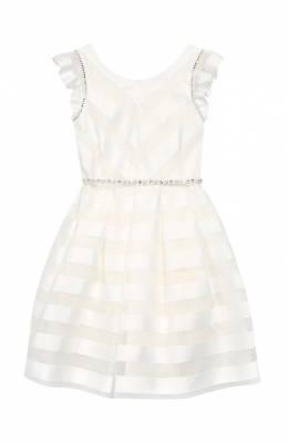 Платье с поясом Monnalisa 713912
