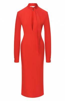 Платье-миди Victoria Beckham DR MID 6718B PSS19 SATIN BACK CREPE