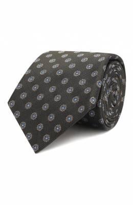 Шелковый галстук Canali 18/HJ02177