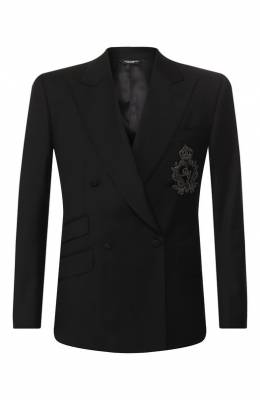 Пиджак из шерсти Dolce & Gabbana G2MD6Z/FU2NF