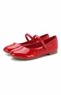 Балетки из лаковой кожи Dolce & Gabbana D10699/A1328/29-36