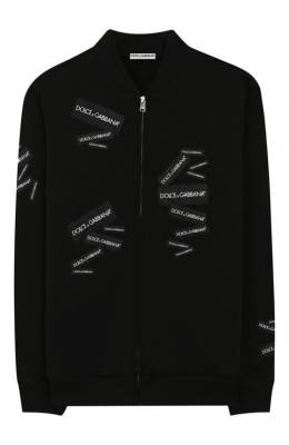 Хлопковый кардиган Dolce & Gabbana L4JW2G/G7R0H/2-6
