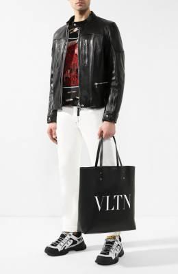 Кожаная сумка-шоппер Valentino Garavani VLTN Valentino RY2B0686/WJW