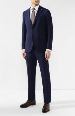 Шерстяной костюм Sartoria Latorre A6I7EF Q51564