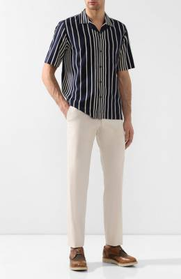 Хлопковые брюки Dries Van Noten 191-20912-7022