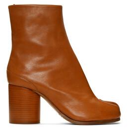 Maison Margiela Brown Tabi Boots S58WU0260 P2355