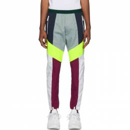 Dsquared2 White Colorblocked Lounge Pants S71KB0144 S35175