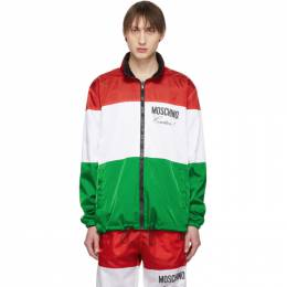 Moschino Reversible Multicolor Couture Jacket 0606 0215