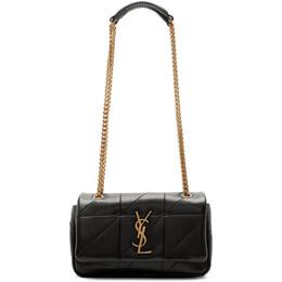 Saint Laurent Black Small Jamie Bag 192418F04804901GB