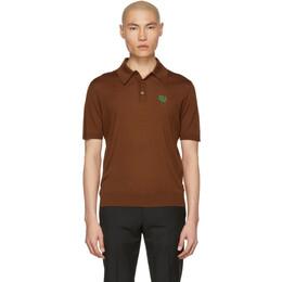 Prada Brown Logo Polo 191962M21200303GB