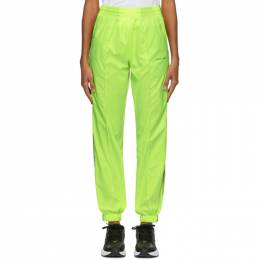 Off-White Yellow Jogging Lounge Pants OMCA090S19D160016200