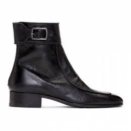 Saint Laurent Black Miles 30 Age Boots 558231 0Z000