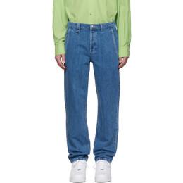 A.P.C. Indigo Carpenter Jeans 191252M18600608GB