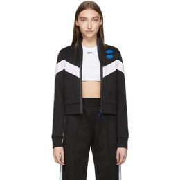 Off-White Black Gym Suit Track Jacket OWBA045R19C950571000