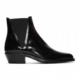 Saint Laurent Black Dakota Chelsea Boots 552853 0MF00