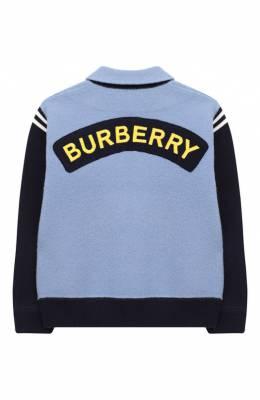 Шерстяной кардиган Burberry 8008856