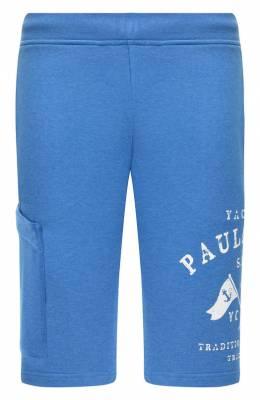 Хлопковые шорты Paul & Shark P19P1828