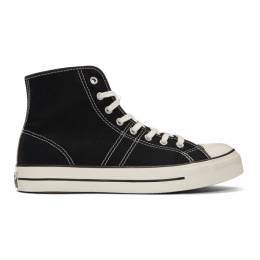Converse Black Lucky Star High Top Sneakers 163321C