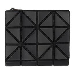 Bao Bao Issey Miyake Black Matte Book Wallet BB06AG783