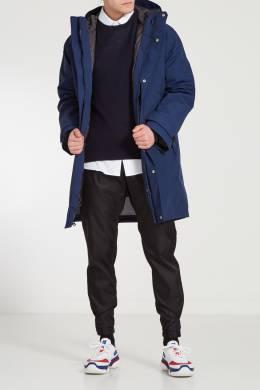 Темно-синий кашемировый джемпер Prada 40121953