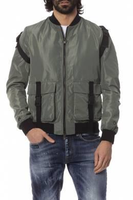 jacket Frankie Morello FMCS8027BM_MILITARY