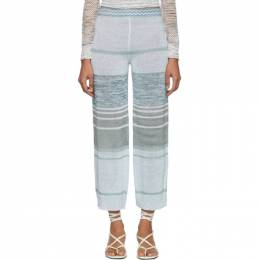 Missoni Multicolor Knit Linen Lounge Pants MDI00103 BK0033