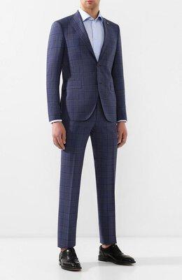 Шерстяной костюм Sartoria Latorre A6I7EF Q50672
