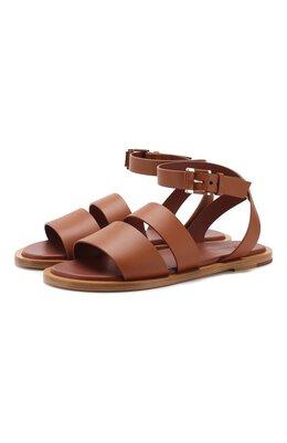 Кожаные сандалии Thirasia Loro Piana FAI5686