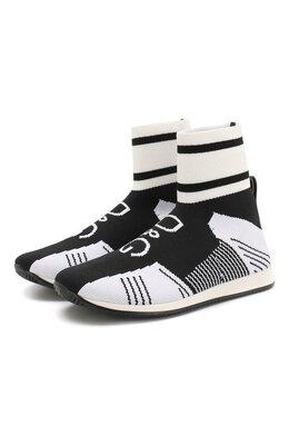 Текстильные кроссовки Dolce & Gabbana DA0721/AK470/24-28