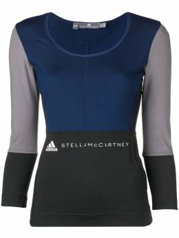 Adidas by Stella McCartney приталенная футболка с длинными рукавами CZ1779